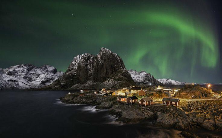 Se nordlyset på vinterferien i Nord-Norge
