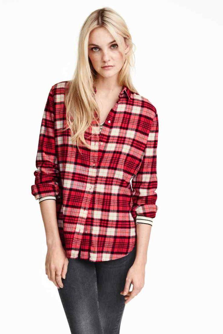 Flanelowa koszula | H&M