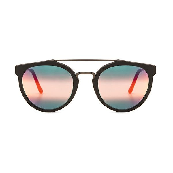 Retrosuperfuture Giaguaro Accessories ($329) ❤ liked on Polyvore featuring accessories, eyewear, sunglasses, matte sunglasses, retrosuperfuture glasses, retrosuperfuture and retrosuperfuture sunglasses