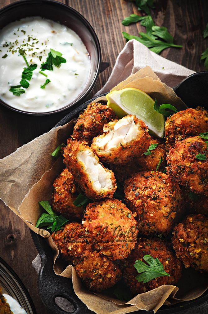 Learn here how to make best crisp parsley fish nuggets at home. This recipe is a keeper and easiest one to make. A perfect snack/appetiser