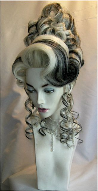 WIGS BY ANTHONY - www.akwigdesigns.com by A k wig designs - luv the Blk & Wht...