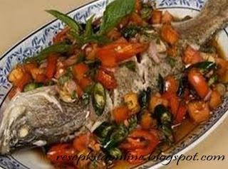 Ikan Bakar Colo Dabu-dabu - Resep Kita Online