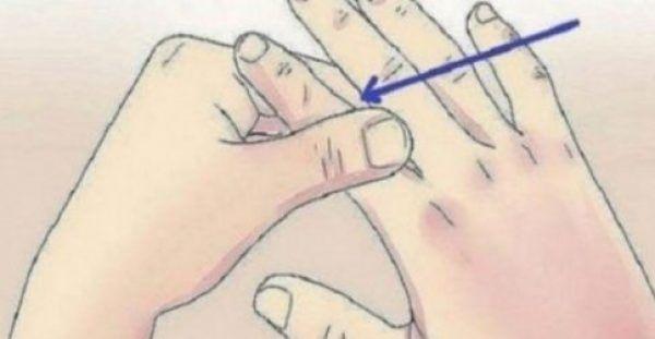 ΚΑΝΤΕ ΤΟ! Πιέστε τα δάχτυλά σας για 60 δευτερόλεπτα και βιώστε το ΘΑΥΜΑ!