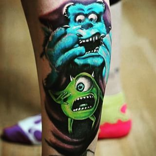 Maybe you wanted to highlight your favorite Pixar moment… | Show Us Your Disney-Inspired Tattoos!