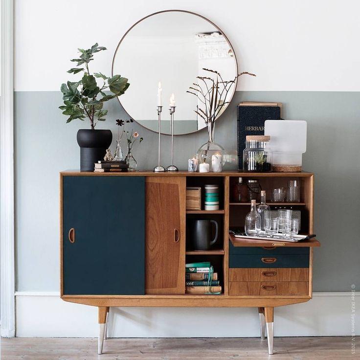 Kretsloppis! Att låta möbler byta hem är lycka för både dig och jorden. Och med lite kreativitet får de nytt liv, som denna skänk från 50-talets IKEA hemma hos vår gästbloggare @fridasfina. Fler knep för att kickstarta kretsloppisen på IKEA.se/livethemma
