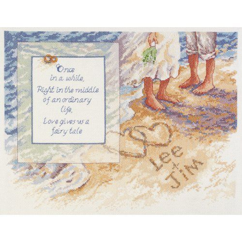 another beach wedding cross stitch love it but i am already working on a beach