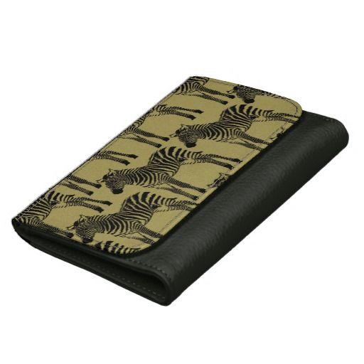Chic Zebras wallet