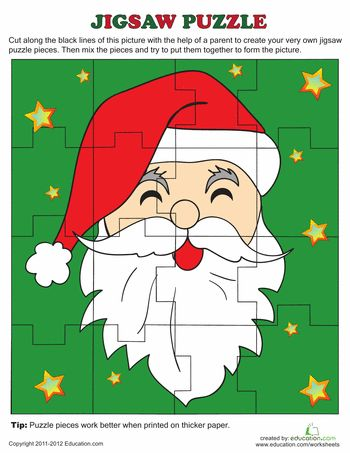 Free Christmas Jigsaw Puzzles