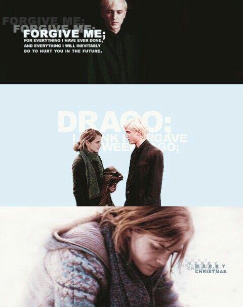 spank Draco hermione