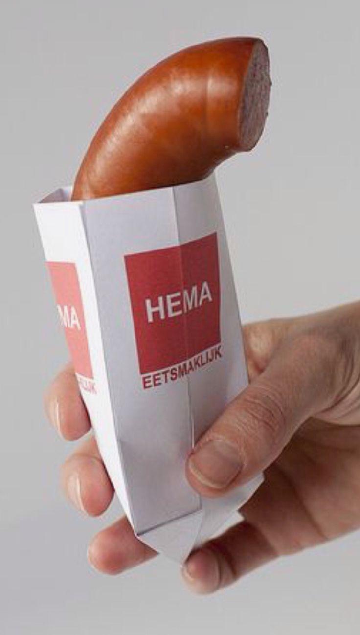 Rookworst van de HEMA.