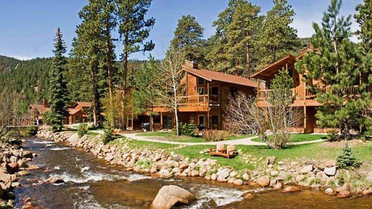 Colorado Cabin Vacations - Riverside Woodlands at Fall River cabins in Estes Park, Colorado