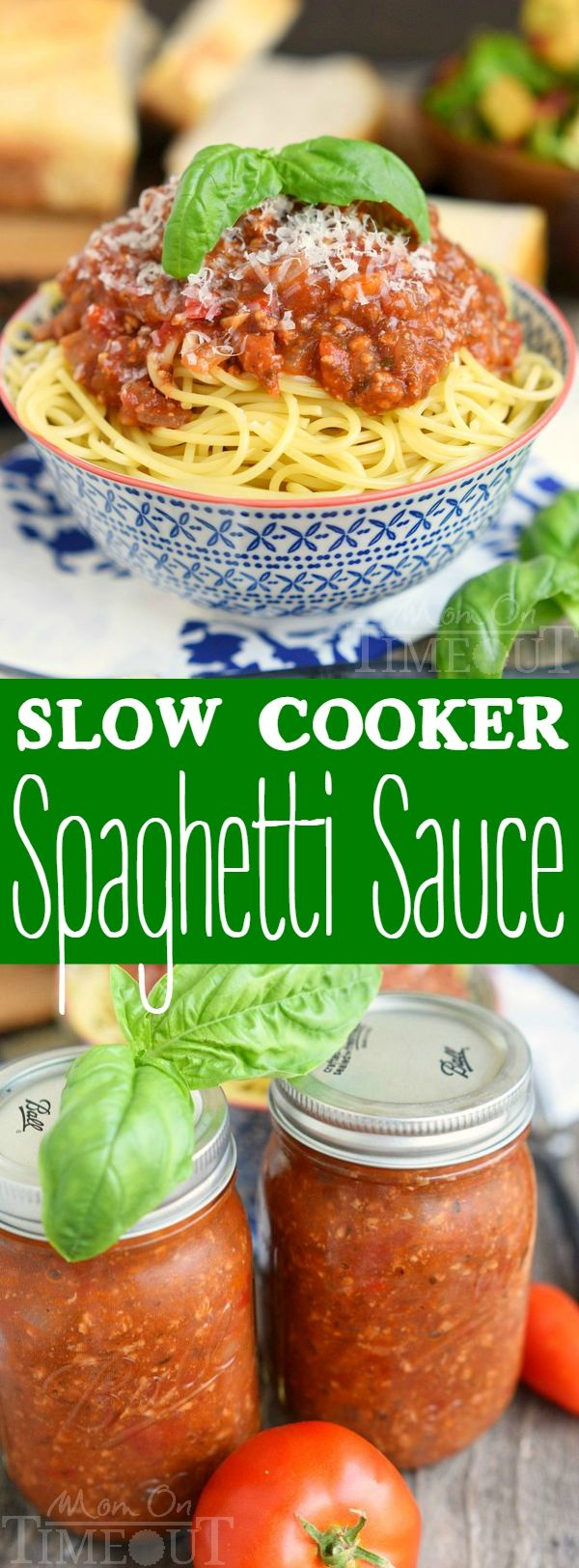 Meat-Lover's Slow Cooker Spaghetti Sauce Recipe — Dishmaps