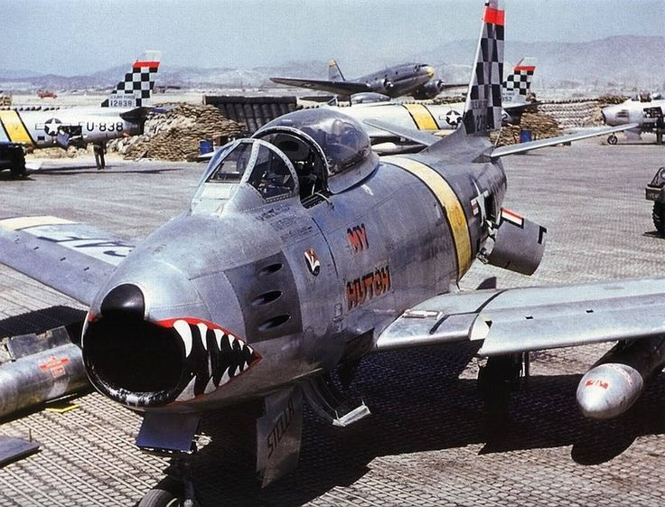 "F-86A ""My Hutch"" 51st FIW 1953 Korea"