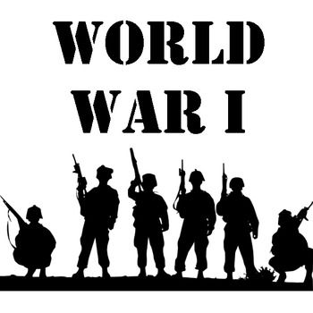 World War I Unit: Webquest, Map, Project, Readings, Graphic Organizer, Quiz - great way to pump up the unit and make it more fun and interactive.