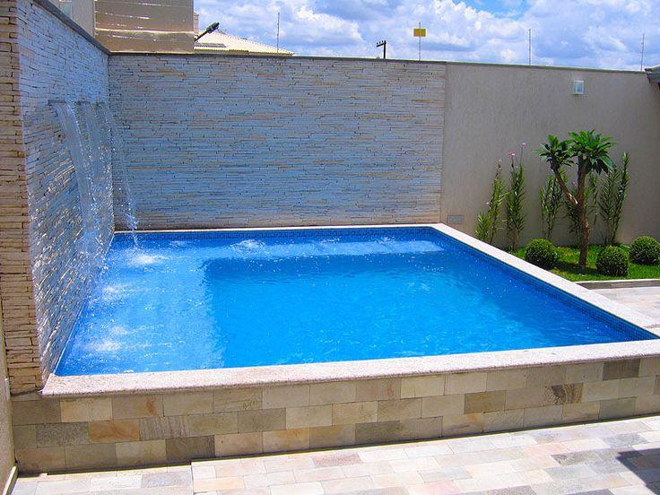 piscina encostada no muro - Pesquisa do Google