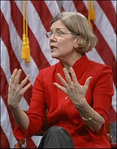 Special Advisor for Consumer Financial Protection Bureau. currently running for senate. we will see how far she will go1