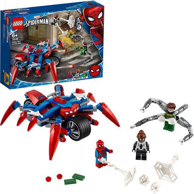 Konstruktionsspielsteine Raquo Spider Man Vs Doc Ock 76148 Marvel Super Heroes Laquo 234 St Lego Super Heroes Lego Spiderman Lego Marvel Super Heroes