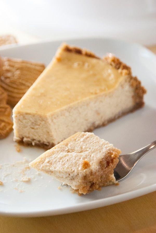 Speculoos-Käsekuchen mit Keksboden   – Rezepte: Kuchen & Torten