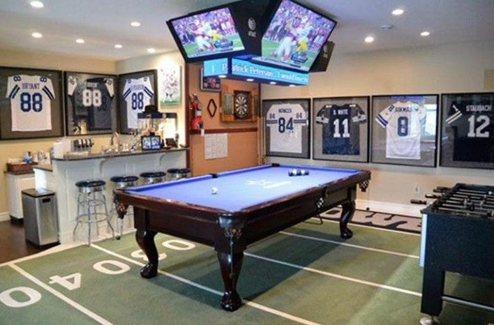 Pinterest Keedrajackson Sports Man Cave Man Cave Ideas Sports Man Cave Home Bar