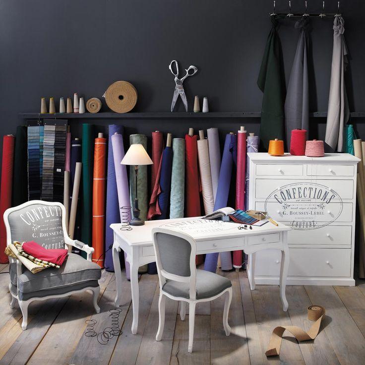 fauteuil confection demenagement pinterest fauteuil maison du monde et maison. Black Bedroom Furniture Sets. Home Design Ideas