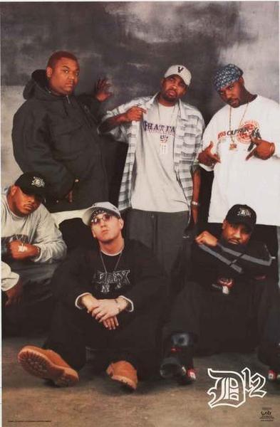Eminem D12 Rap Group Poster 22x34 – BananaRoad