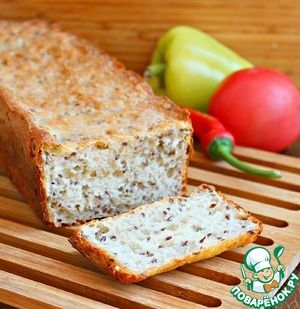 Шведский ночной хлеб без замеса
