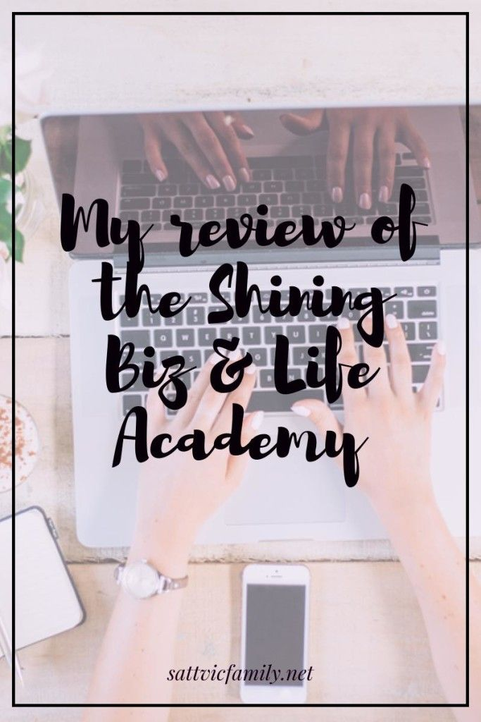 Thinking of joining the Shining and Biz Academy? Read my review of the program…