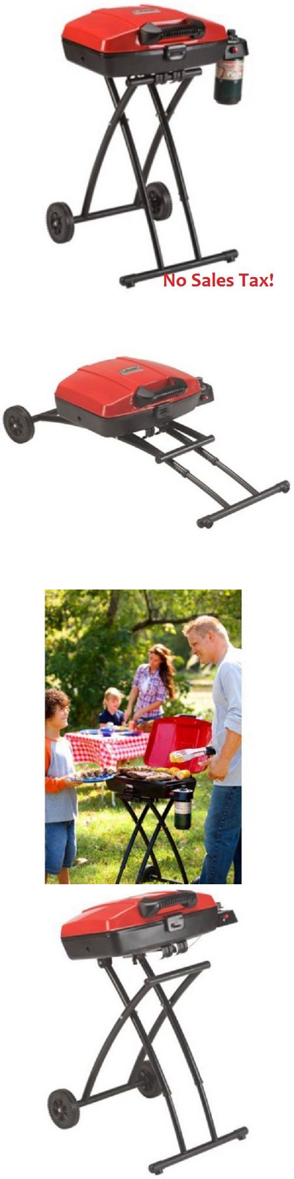 Camping BBQs and Grills 181388: Portable Gas Grill Propane Outdoor Cooking Barbecue Camping Picnic Backyard Red -> BUY IT NOW ONLY: $109.99 on eBay!