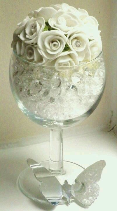 wine glass table decoration inspiring ideas pinterest