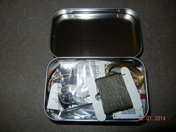 Zombie Survival Kit Mini Compact Survival Kit by SurvivalGeneral