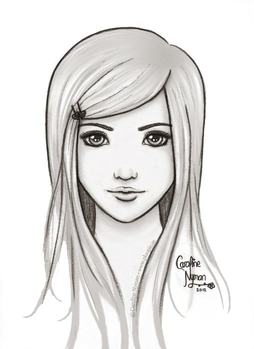 Awesome Drawings That Are Easy To Draw Just a simple drawing of a