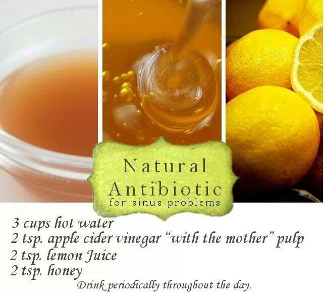 Natural antibiotic for sinus problems recipe