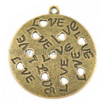 8db33bb13841f Zinc Alloy Pendants UK-PALLOY-A15303-AG-FF-1   Pendants & Charms ...
