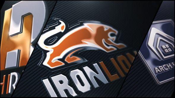 Company Logo V01 Shiny Realistic