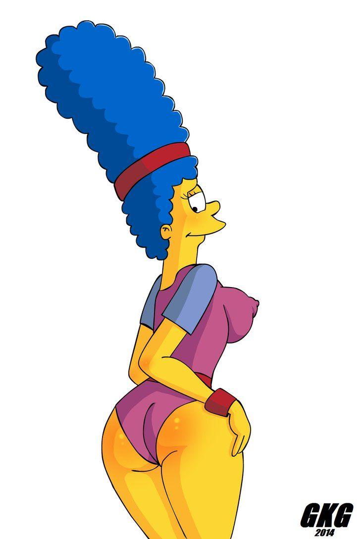 Marge simpson aerobics suit 2 by jokerfakegkg toonacity in 2019 bart simpson aerobics - Marge simpson et bart ...