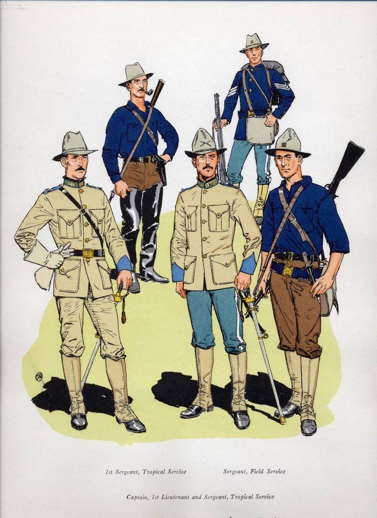 US Infantry circa The ...