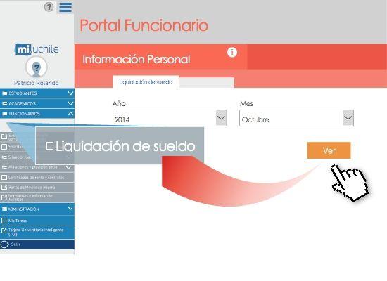 Acceda a sus liquidaciones de sueldo históricas a través de MiUchile. Ver más en http://uchile.cl/u106631