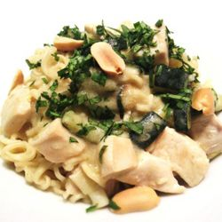 Noodle con pollo al curry #asianfood #pasta