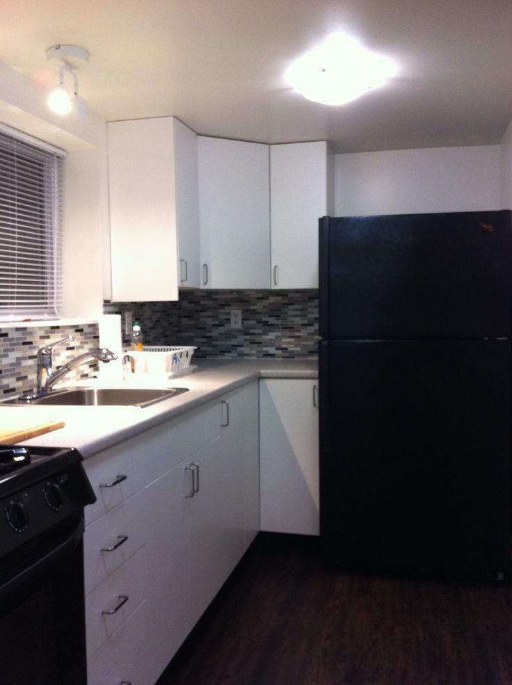 Terra Kitchen Basement Reno Galley Style Ikea Kitchen