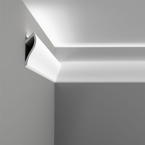C371 - Shade | Ceiling decoration | Orac Decor - for concealed LED lighting strip, can be mounted up or down