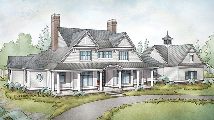 Visbeen Low Country House Plans - 0425