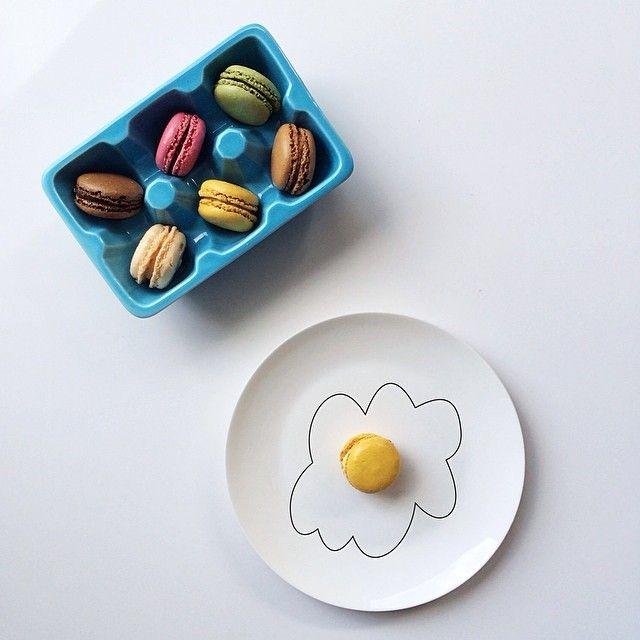 """Macarons...served sunnyside up  happy #macaronmonday! "" Photo taken by @brigadeirochoc on Instagram, pinned via the InstaPin iOS App! http://www.instapinapp.com (03/24/2014)"