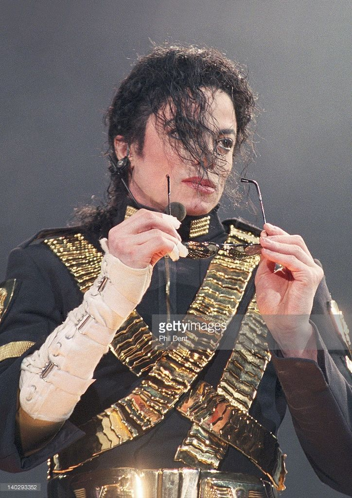 Michael Jackson performs live on stage, Jerudong Park, Brunei, July 16 1996.