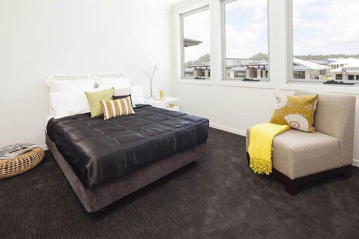 Guest bedroom in custom built home. #bedroom #familyhome #luxuryhome
