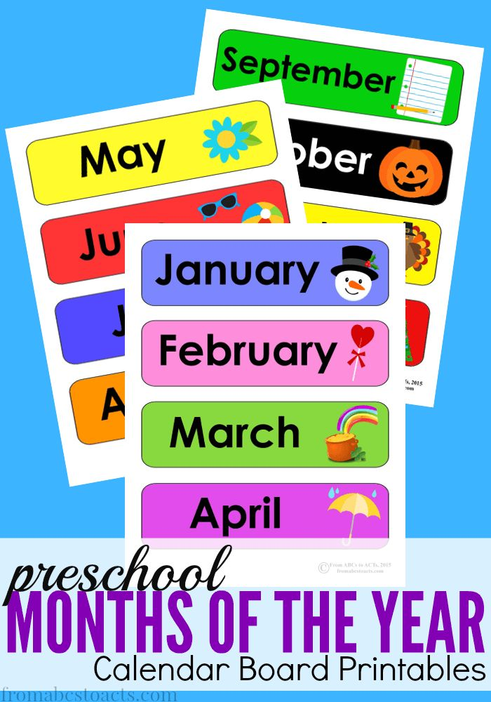 Calendar Board Printables : Best preschool calendar ideas on pinterest
