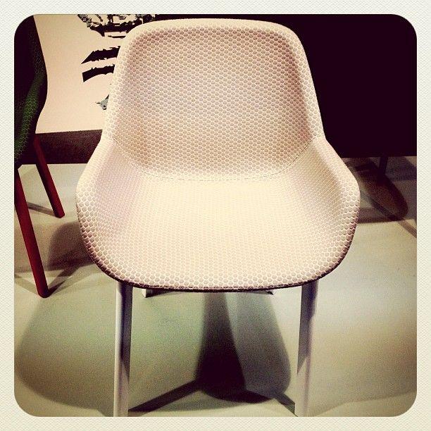 Salone 2013   Soft texture for Clap Armchair by Patricia Urquiola #kartellgalleria #mdw13 #milandesignweek