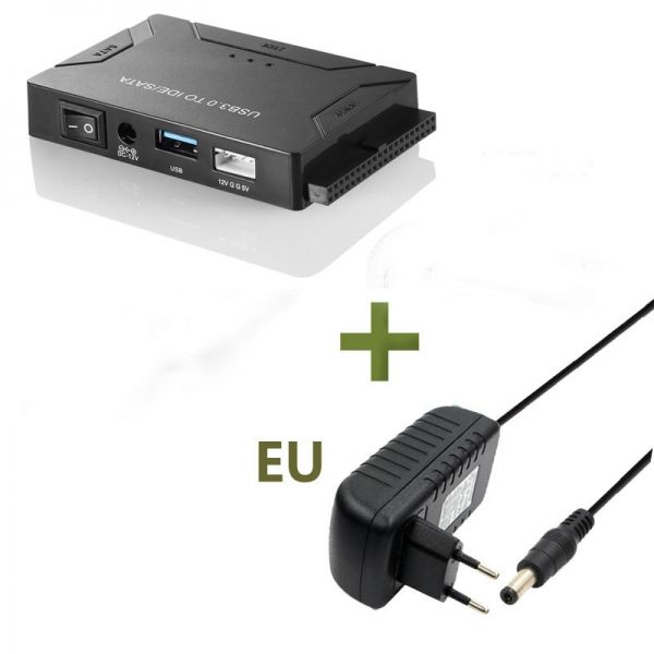 SATA to USB 3.0 2.5 3.5 SSD HDD Hard Drive Converter Cable Hard Drive Adapter