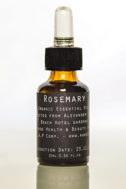 Rosemary Essential Oil - ideal for strong,shiny hair - boosts immune system - regulates circulatory system - combats constipation - potent deodorant. Order online at www.papcorp.com