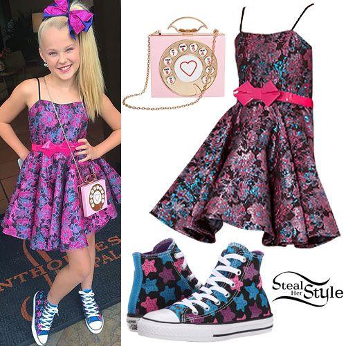 Jojo Swia Jojo Siwa Floral Dress Star Sneakers