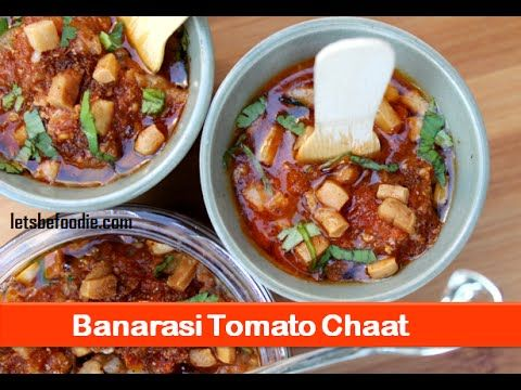 25 best street food images on pinterest street food indian and banarasi tomato chaat recipeindian chaat recipesindian evening snack recipe letsbefoodie forumfinder Gallery